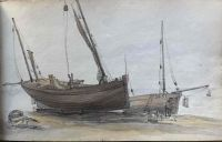 Watercolours and sketches from Kent, the Medway towns and South London .