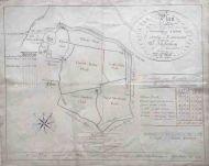 *SALE* Manuscript Estate Map; Caton, Lancaster