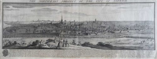The North East Prospect Of The City Of Norwich