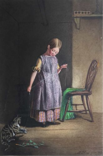 Irish Album Circa1844. Powerscourt.