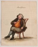 "Mr Everard's Picture 1804   ""When His Soul Was Open  Over The Second Bowl Of Rum And Water"""