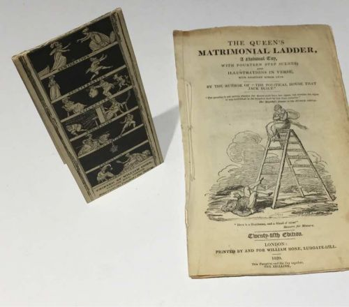 """Complete With Rare """"Matrimonial Ladder"""" Toy"""