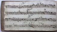 *SALE* Robert Ventress's  Music Book 1822