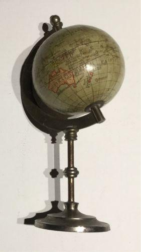 Antique Miniature Globe