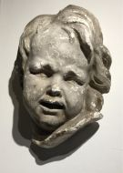 Large Plaster Putto by Brucciani