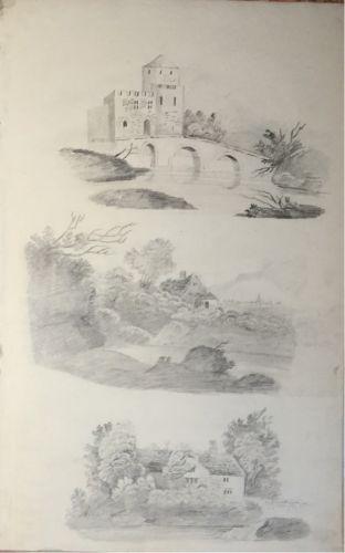 Amelia Scarlett's Drawing Book 1834