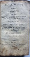 The first known slave narrative to be published by a black author in England, in an early American edition.