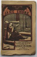 The Life of Jane Shore: Not in B.L.