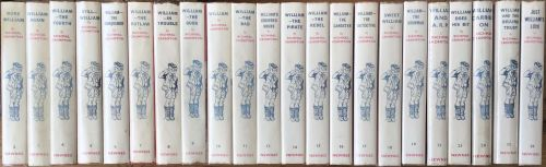 """Beautifully Matched Collection of """" William"""" Books"""