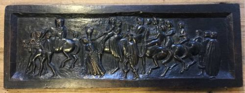 C17th Carving Of A Wedding Party