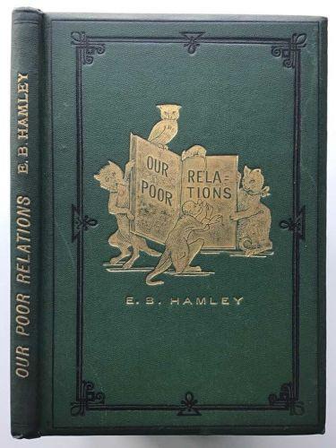 Animal lover and Anti- vivisectionist author E.B.Hamley