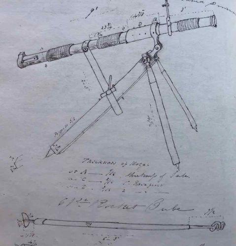 A Manuscript Journal of Officer Artillery training at Shoeburyness 1859/60