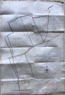 MANUSCRIPT MAP ON VELLUM :Coke of Holkham