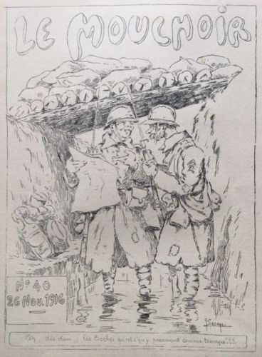 Le Mouchoir WW1 Trench Newspaper